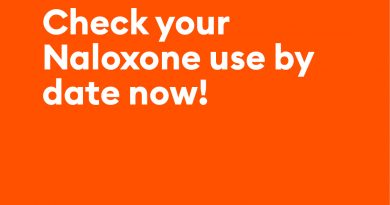 Take Home Naloxone Replacement Kits are free